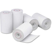 "PM® Thermal Register Cash Roll, 3-1/8"" x 90', White, 72 Rolls/Carton"