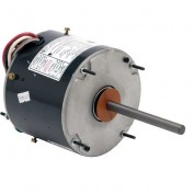 US Motors 5465, Condenser Fan, 1/2 / 1/5 HP, 1-Phase, 1075 RPM Motor
