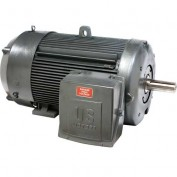 US Motors, TEFC, 400 HP, 3-Phase, 1190 RPM Motor, C400P3WF