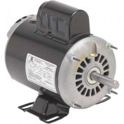 US Motors, ODP, 1/2 HP, 1-Phase, 1725 RPM Motor, D12C2J