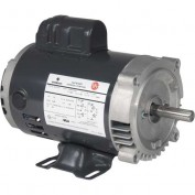 US Motors, ODP, 1 1/2 HP, 1-Phase, 3450 RPM Motor, D32C1JH