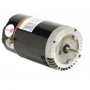 "56 C Flange 6.5"" Dia. Pool, 1.5 / 0.188 HP, 1-Phase, 3450/1725 RPM Motor, EB977"