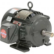 US Motors Hostile Duty TEFC, 5 HP, 3-Phase, 1170 RPM Motor, H5P3H
