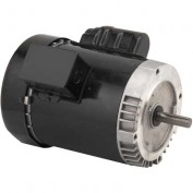 US Motors, TEFC, 1/2 HP, 1-Phase, 1725 RPM Motor, T12CA2JCR