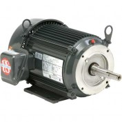 US Motors Pump, 3 HP, 3-Phase, 1760 RPM Motor, UJ3P2GM
