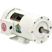 US Motors Washdown, 3 Phase, 1/2 HP, 3-Phase, 1725 RPM Motor, WD12S2AC
