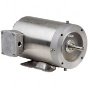 US Motors Washdown, 3 Phase, 1 HP, 3-Phase, 1750 RPM Motor, WDS1S2AFCR