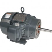 US Motors Hazardous Location, 5 HP, 3-Phase, 1745 RPM Motor, XJ5E2BM