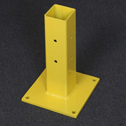 "Schmidt® WorkSafe™ QuickShip 15""H Barrier Rail Post Assembly"