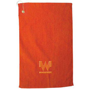 Jewel Collection Customized Golf Towel, Embroidered, Colors