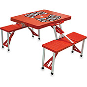 Picnic Table - Red (U Of Nevada LV Rebels) Digital Print - Logo