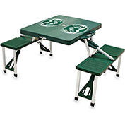 Picnic Table - Green (Colorado State Rams) Digital Print - Logo