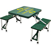 Picnic Table - Green (U Of Oregon Ducks) Digital Print - Logo