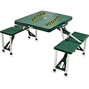 Picnic Table - Green (Baylor University Bears) Digital Print - Logo