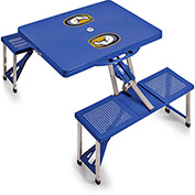 Picnic Table - Blue (UC Davis Aggies) Digital Print - Logo