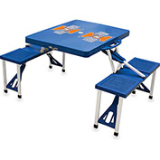 Picnic Table - Blue (U Of Illinois Fighting Illini) Digital Print - Logo