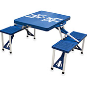 Picnic Table - Blue (U Of Kentucky Wildcats) Digital Print - Logo