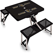 Picnic Table - Black (University Of Central Florida Knights) Digital Print - Logo