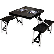 Picnic Table - Black (U Of Connecticut Huskies) Digital Print - Logo