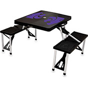 Picnic Table - Black (Kansas State Wildcats) Digital Print - Logo