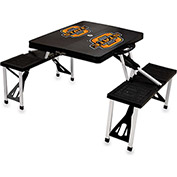Picnic Table - Black (Oklahoma State Cowboys) Digital Print - Logo
