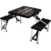 Picnic Table - Black (Vanderbilt U Commodores) Digital Print - Logo