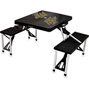 Picnic Table - Black (Wake Forest Demon Deacons) Digital Print - Logo