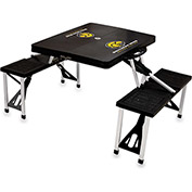 Picnic Table - Black (Southern Miss Golden Eagles) Digital Print - Logo