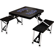 Picnic Table - Black (TCU Horned Frogs) Digital Print - Logo
