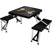 Picnic Table - Black (East Carolina Jolly Roger) Digital Print - Logo