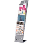 Paperflow Portable Seven Compartment Floor Literature Display