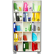 Paperflow EasyScreen Room Divider, Bookcase