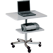 Rocada Multi-Functional Mobile Computer Table - Gray