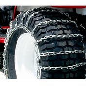 Maxtrac Snow Blower/Garden Tractor Tire Chains,  2 Link Spacing (Pair) - 1061256