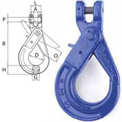 "Peerless™ 8498800 5/8"" V10 Clevis Self-Lock Hook"
