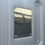PolyPortables Stainless Steel Mirror for Portable Restrooms - PP1033-699-99