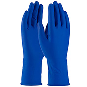 PIP Ambi-Thix® Heavy Weight Disposable Latex Gloves, Medical Grade, Blue, XL - Pkg Qty 10