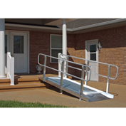"PVI OnTrac Ramp with Handrails XPS836 - 8'L x 36""W - 850 Lb. Capacity"