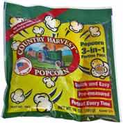 Paragon 1101 Country Harvest Tri-Pack for 8oz Poppers, 40 Portion Packs