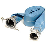 "4"" Discharge Hose Kit - 50'L, 55 PSI"