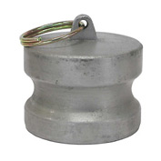 "1-1/2"" Aluminum Camlock Fitting - Dust Plug Thread"