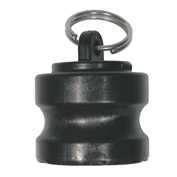"1"" Polypropylene Camlock Fitting - Dust Plug Thread"