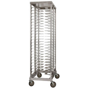 "Prairie View LPZ3018DB, Double Wide Pizza Rack, 40 Pan Capacity, 21-1/2""W x 73-1/2""H x 31-1/8""D"