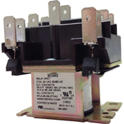 PSG 90340 DPDT General Purpose Relay 50/60 Hz Double Pole Power-Power-Coil 24VAC