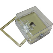 "PSG BTGK Thermostat Guard Solid Base: 5.25""Hx4.325""Wx3""D Ring base: 5.25""Hx4.625""Wx3.25""D"