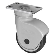 "WMI® NSF Certified Sanitary Caster PSNSS-06 - Stainless Steel Swivel Plate - 6"" Dia. - 660 Lbs."