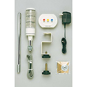 Patlite HSST-312-RYG 3-In-One Manual Control Signal Tower Kit, Red Amber/Green Light, DC24V