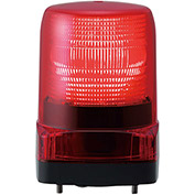 Patlite LFH-12-R LED Signal Light, Outdoor Rated, Red Light, DC12V