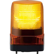 Patlite LFH-12-Y LED Signal Light, Outdoor Rated, Amber Light, DC12V