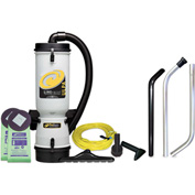 ProTeam® 10 Qt. LineVacer ULPA Backpack Vacuum w/High Filtration Tool Kit - 100280